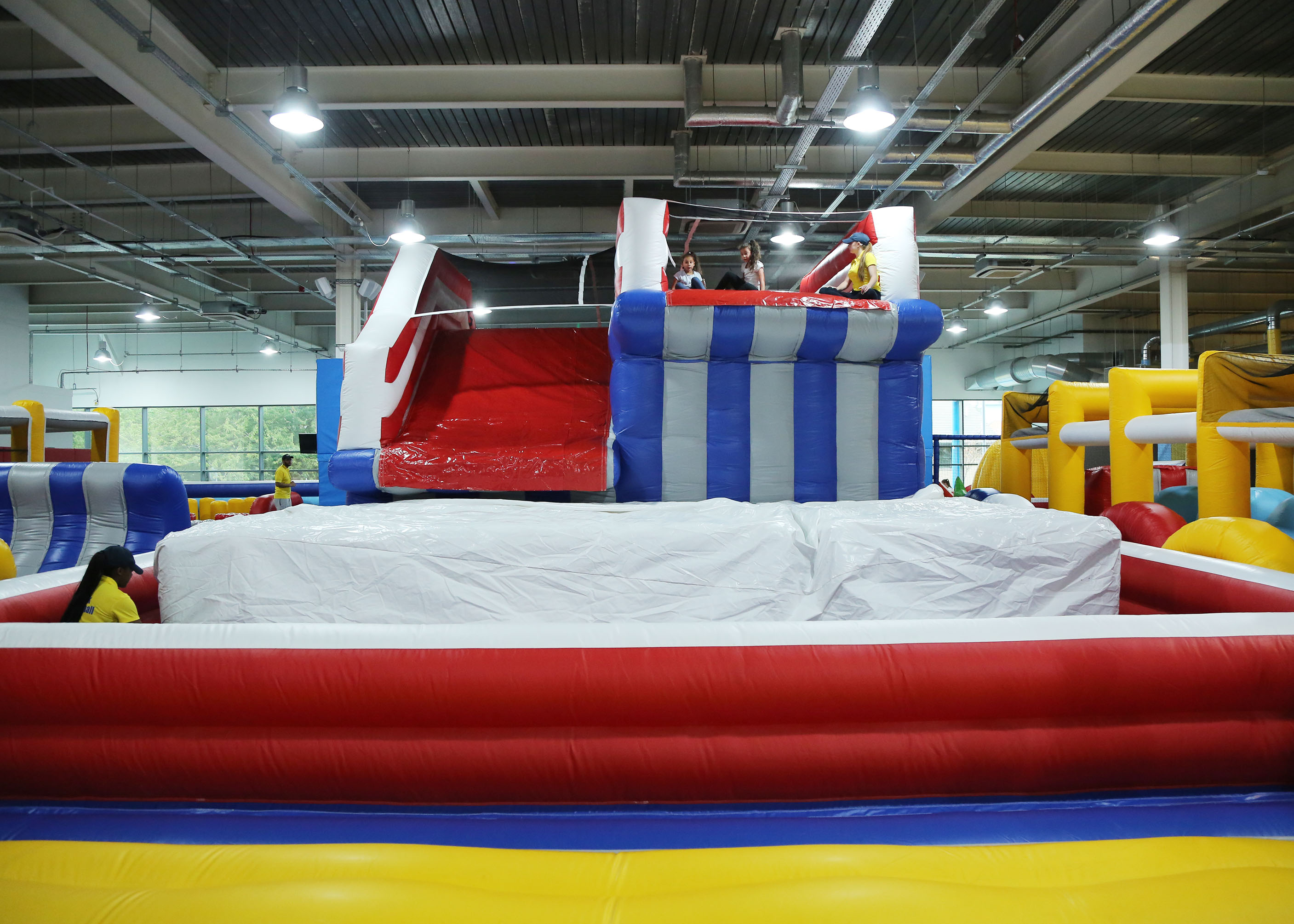 Funzy Inflatable Theme Park Yorkshire First Indoor
